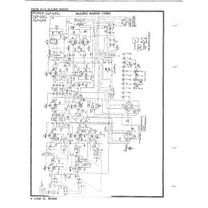 Allied Radio Corp. 14F-495
