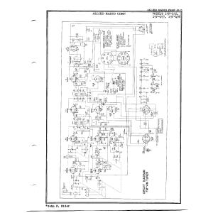Allied Radio Corp. 19F-498