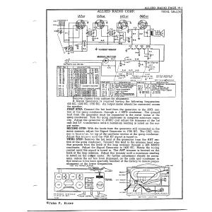 Allied Radio Corp. 4B-170