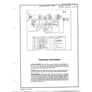 Allied Radio Corp. 4F-515