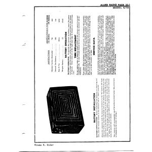 Allied Radio Corp. 4J701
