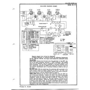 Allied Radio Corp. 5B-171