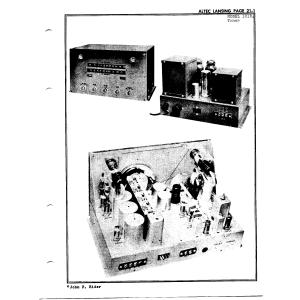 Altec Lansing Corp. 101B