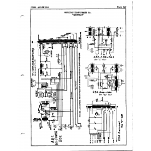 American Transformer Co. 25 A, A Unit