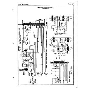 American Transformer Co. 25A