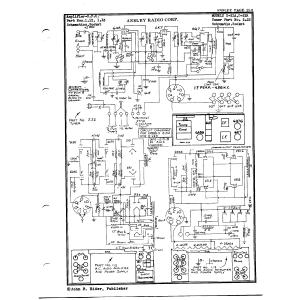 Ansley Radio Corp. 2.22 (Tuner)