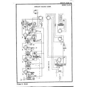 Ansley Radio Corp. 41A