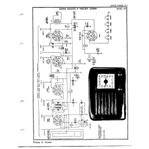 Apex Radio and TV Corp. 25
