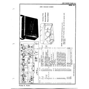 Arc Radio Corp. 601
