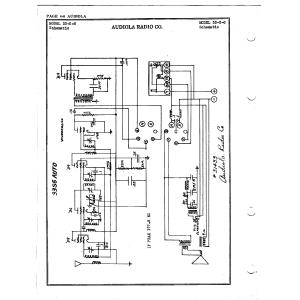Audiola Radio Co. 33-S-6