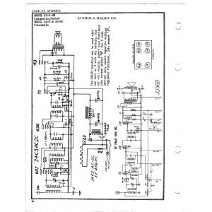 Audiola Radio Co. 33-S-6B