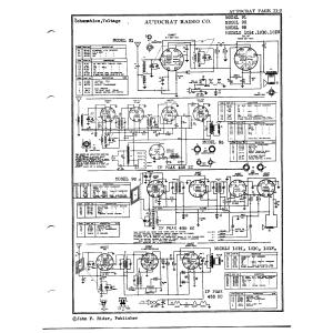 Autocrat Radio Corp. 101-O