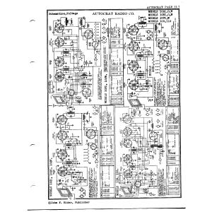 Autocrat Radio Corp. 102-I