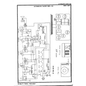 Automatic Radio Mfg. Co. 140 AC