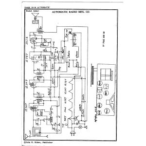 Automatic Radio Mfg. Co. 145 AC
