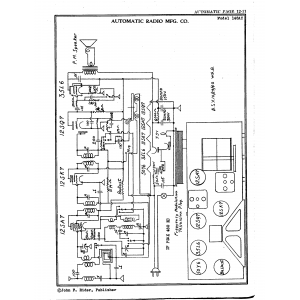 Automatic Radio Mfg. Co. 148 AC
