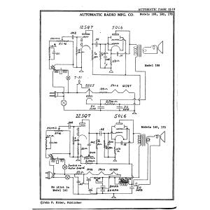Automatic Radio Mfg. Co. 160