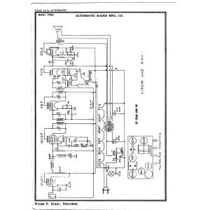 Automatic Radio Mfg. Co. 175 AC