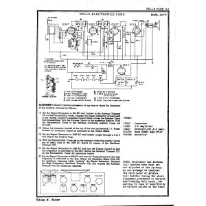 Belle Electronics Corp. 125-P
