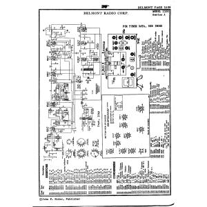 Belmont Radio Corp. 1100, Series A