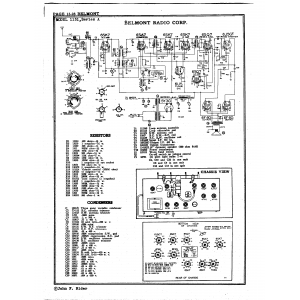 Belmont Radio Corp. 1131, Series A