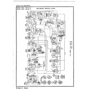Belmont Radio Corp. 1401, Series A