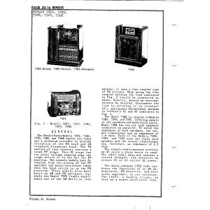 Bendix Radio Div. 75W5