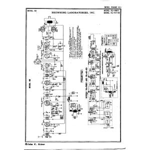 Browning Laboratories, Inc. BL-43-6D