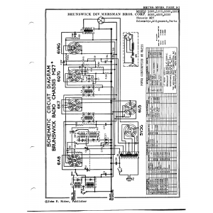 Brunswick Div. Mersman Bros. Chassis M27