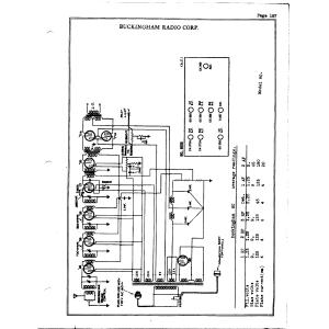 Buckingham Radio Corp. 80B