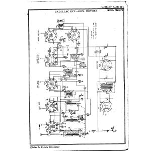 Cadillac Div. - General Motors 7240371