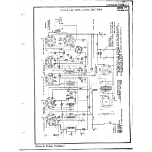 Cadillac Div. - General Motors 77