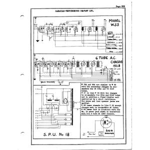 Canadian Westinghouse Co., Ltd. W55