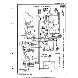 Capehart Corporation 202