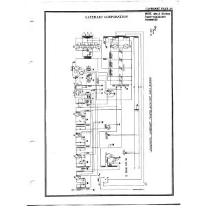 Capehart Corporation 400A Series