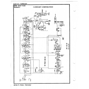 Capehart Corporation 400F Tuner