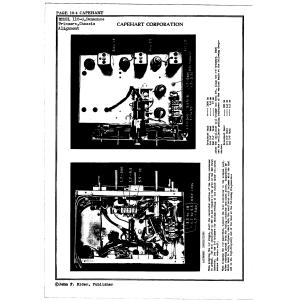 Capehart Corporation Panamuse Amplifier