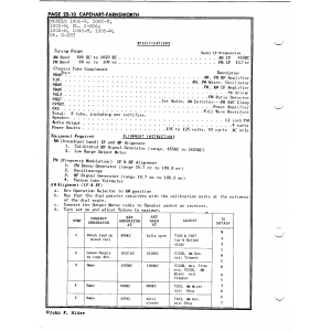 Capehart-Farnsworth 1005-W