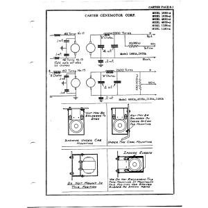 Carter Genemotor Corp. 1635A