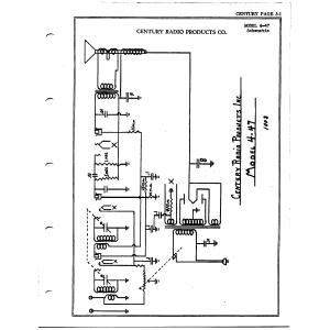 Century Radio Products Co. 4-47