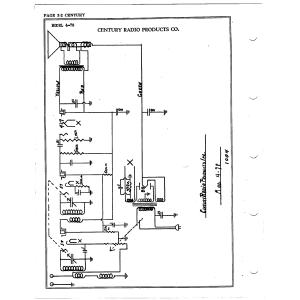 Century Radio Products Co. 4-78