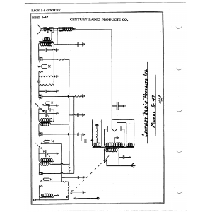 Century Radio Products Co. 5-47