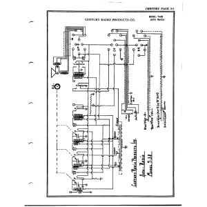 Century Radio Products Co. 7-38