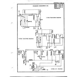 Charles Hoodwin Co. 4 Tube AC