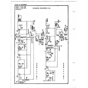 Charles Hoodwin Co. 4 Tube TRF