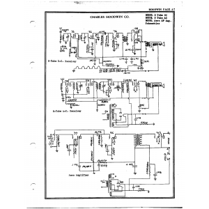 Charles Hoodwin Co. 5 Tube AC