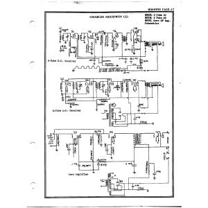 Charles Hoodwin Co. 5 Tube DC