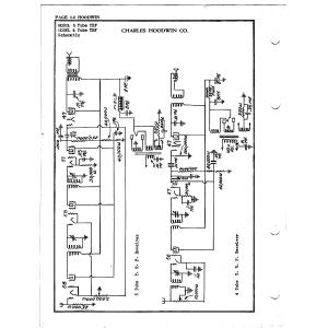 Charles Hoodwin Co. 5 Tube TRF