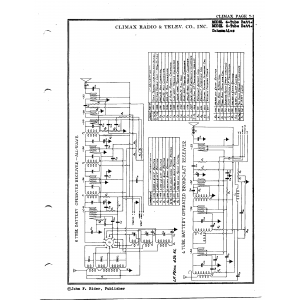 Climax Radio & Television Co, Inc. 6-Tube Batt.