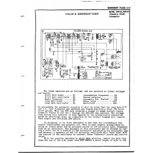 Colin B. Kennedy Corp. 366-B